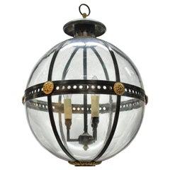 English Regency Style Globe Light
