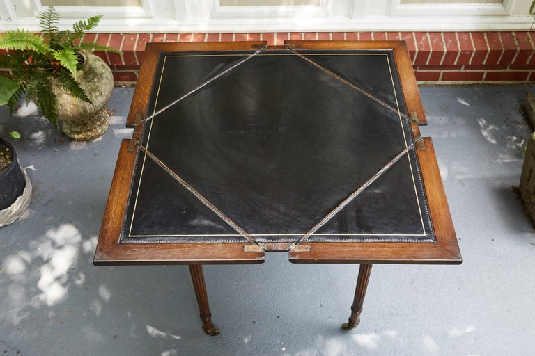 European English Regency Style Handkerchief Game Table For Sale