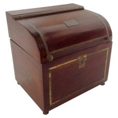 English Regency Tea Caddy
