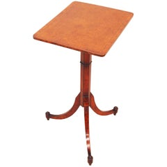 English Regency Thuya Wood Oblong Antique Wine Table