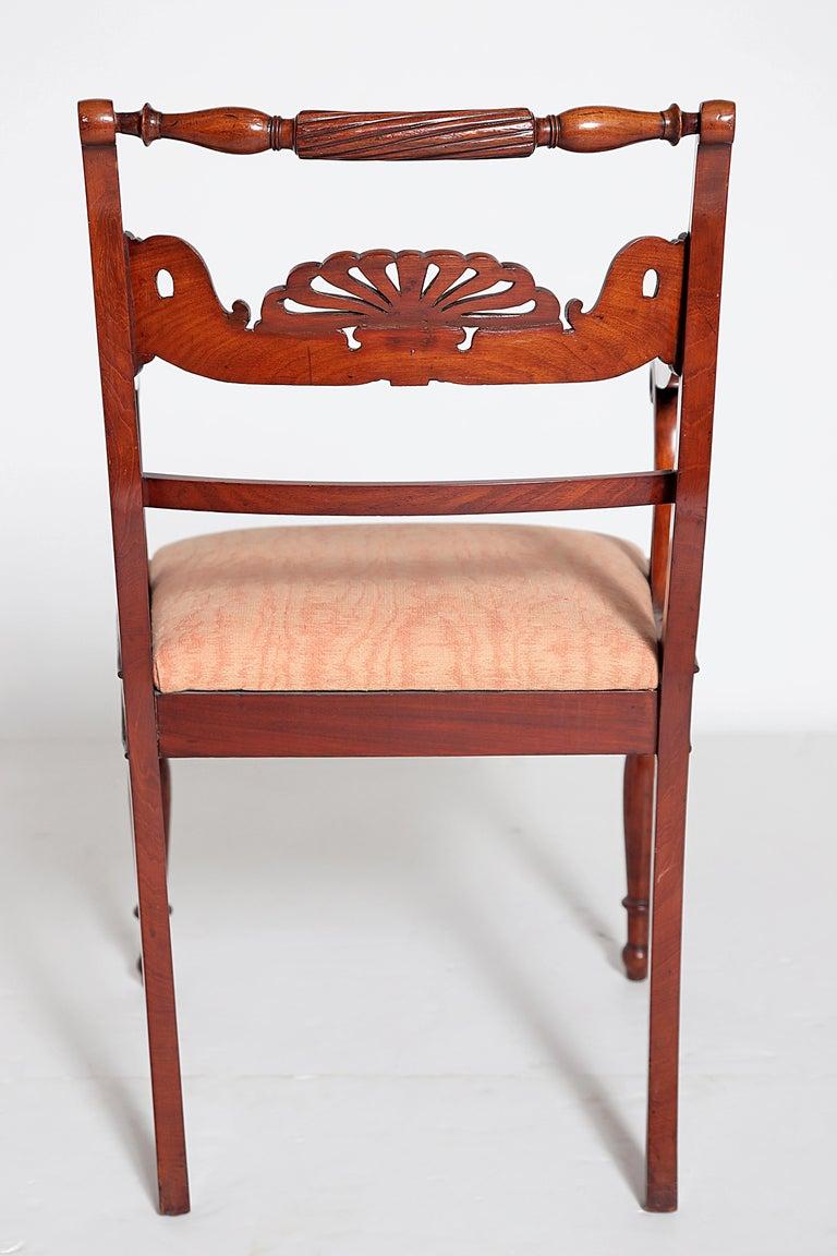 English Regency Trafalgar Dining Chairs / Set of Eight '8' For Sale 5