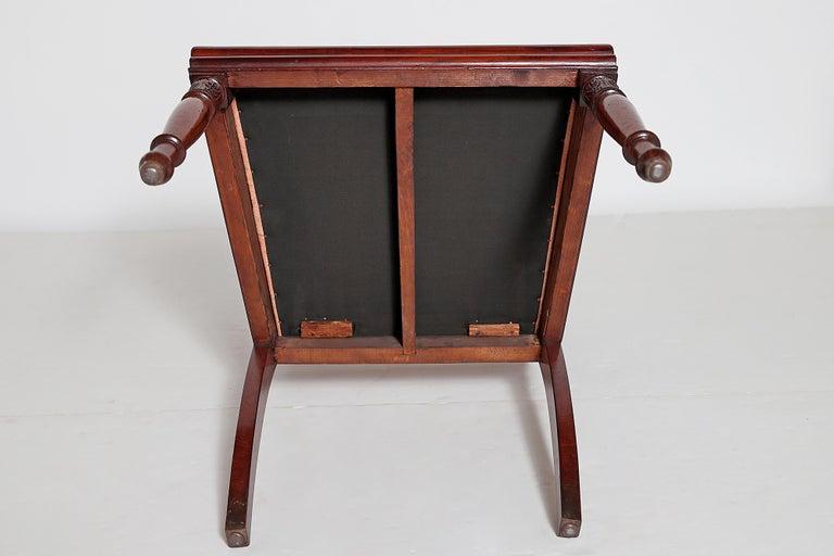 English Regency Trafalgar Dining Chairs / Set of Eight '8' For Sale 11