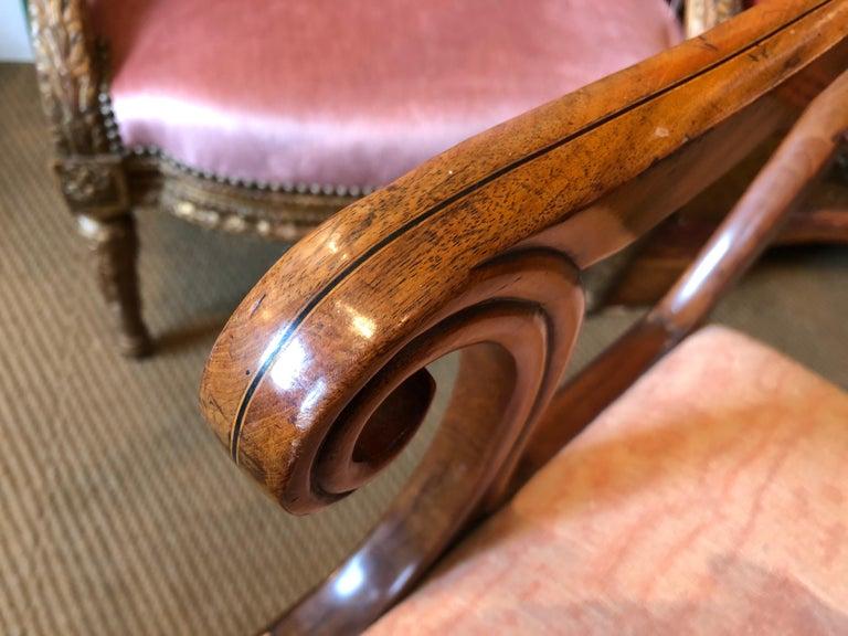 English Regency Trafalgar Dining Chairs / Set of Eight '8' For Sale 14