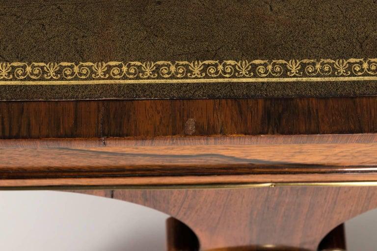 English Regency Writing Table, circa 1820 For Sale 4