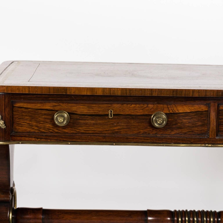 English Regency Writing Table, circa 1820 For Sale 9