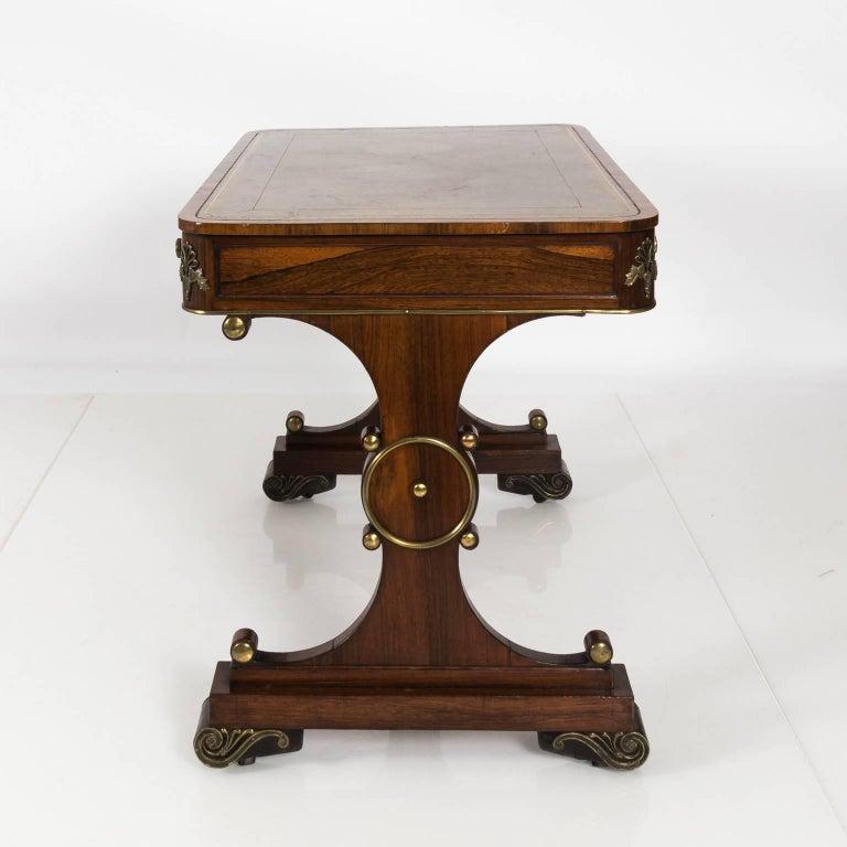 English Regency Writing Table, circa 1820 For Sale 10