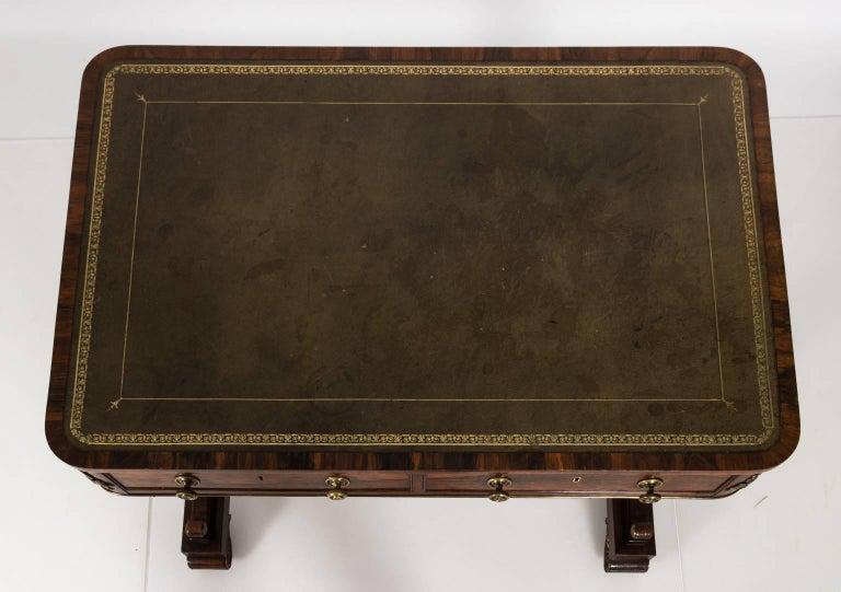 English Regency Writing Table, circa 1820 For Sale 13
