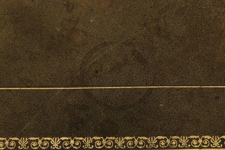 English Regency Writing Table, circa 1820 For Sale 14