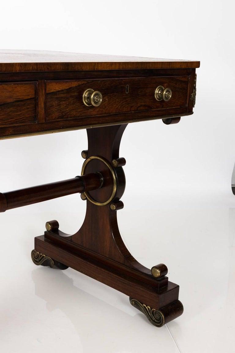 English Regency Writing Table, circa 1820 For Sale 2