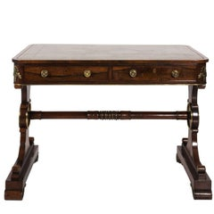 English Regency Writing Table, circa 1820