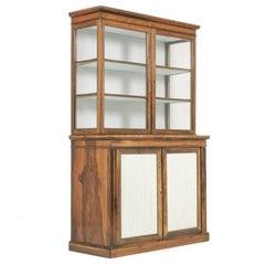 English Rosewood Cabinet