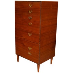 English Rosewood Chest of Drawers Tallboy