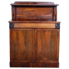 English Rosewood Chiffonier Petite Sideboard Victorian, 19th Century