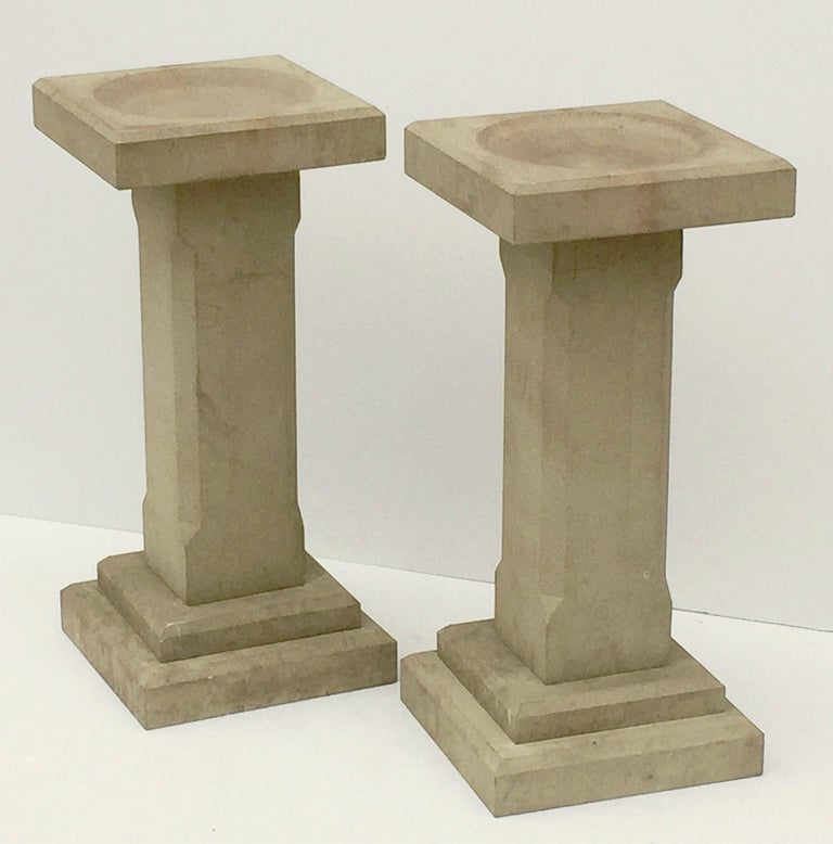 Modern English Sandstone Bird Baths for the Garden 'Individually Priced' For Sale