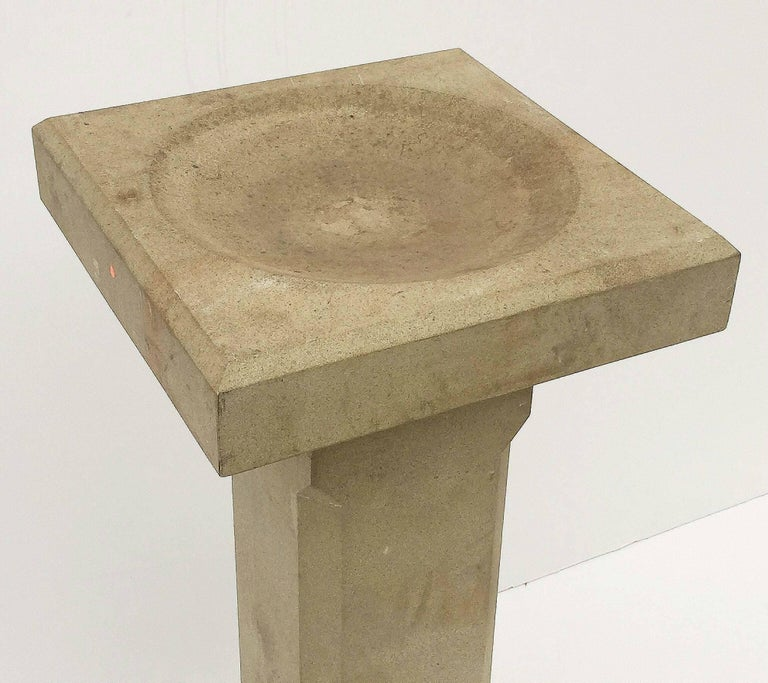English Sandstone Bird Baths for the Garden 'Individually Priced' In Excellent Condition For Sale In Austin, TX