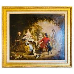 English School '19th Century' Signed J. NOBLE l/r.