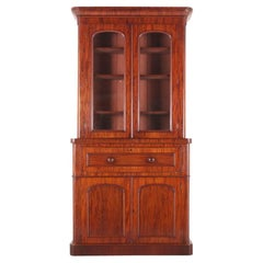 English Secretary Bookcase