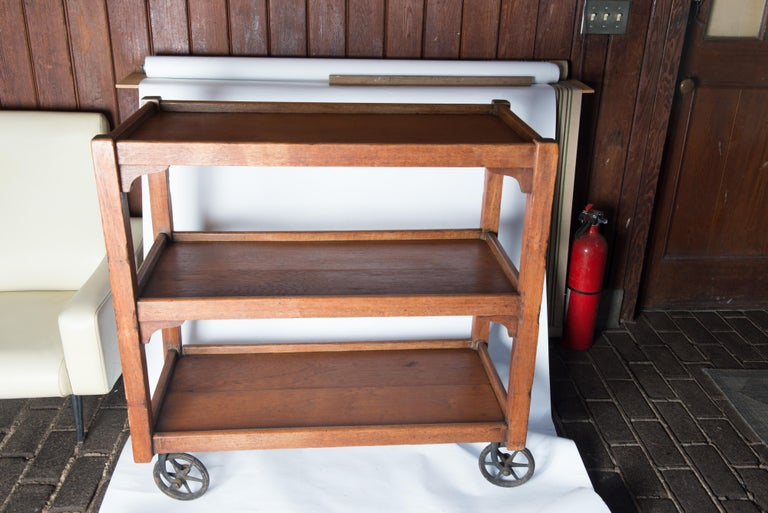 English Serving Cart For Sale 5