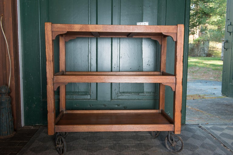 English Serving Cart For Sale 6
