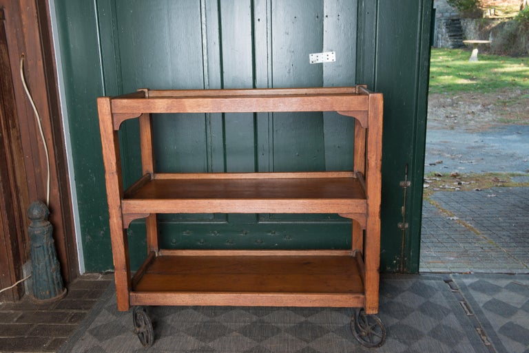 English Serving Cart For Sale 7