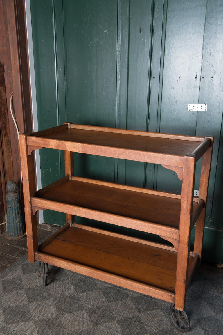 English Serving Cart For Sale 8