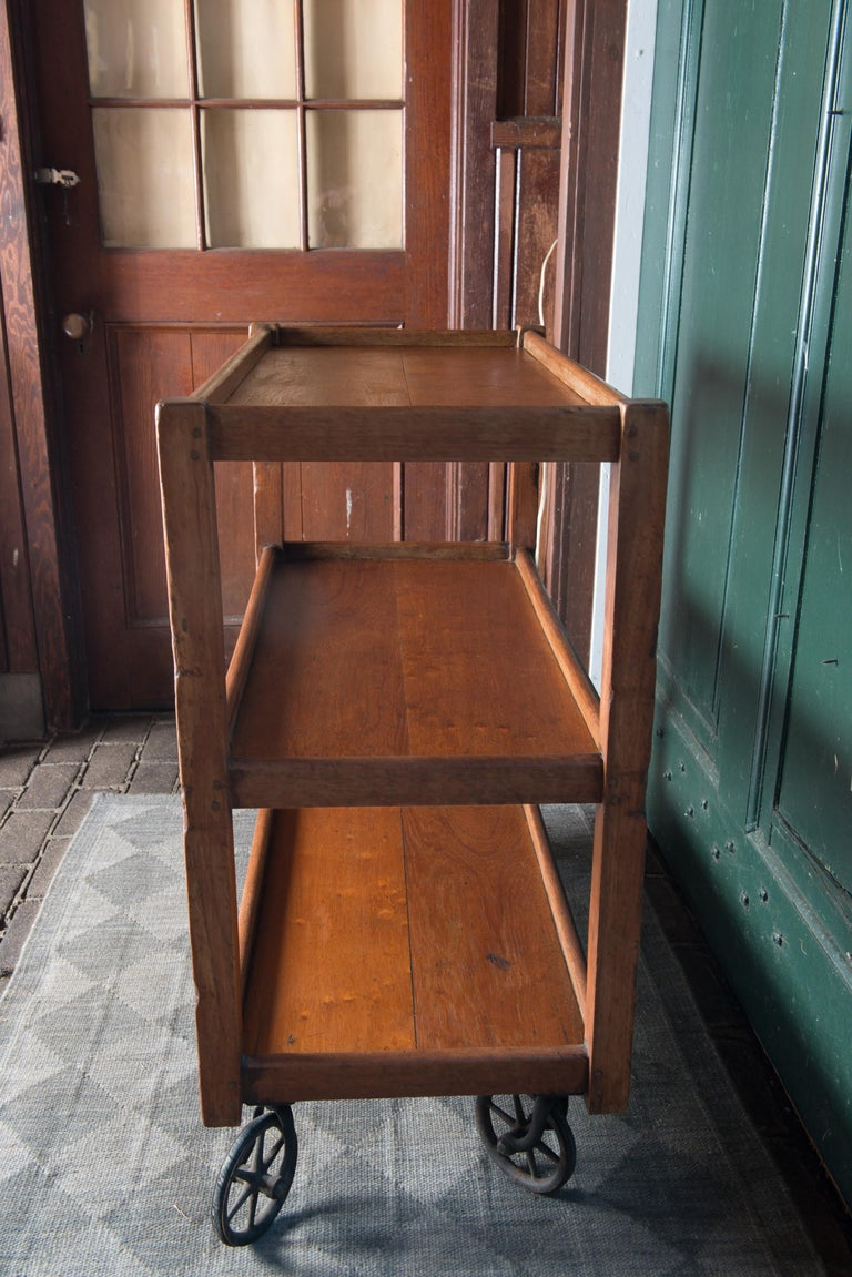 English Serving Cart For Sale 9