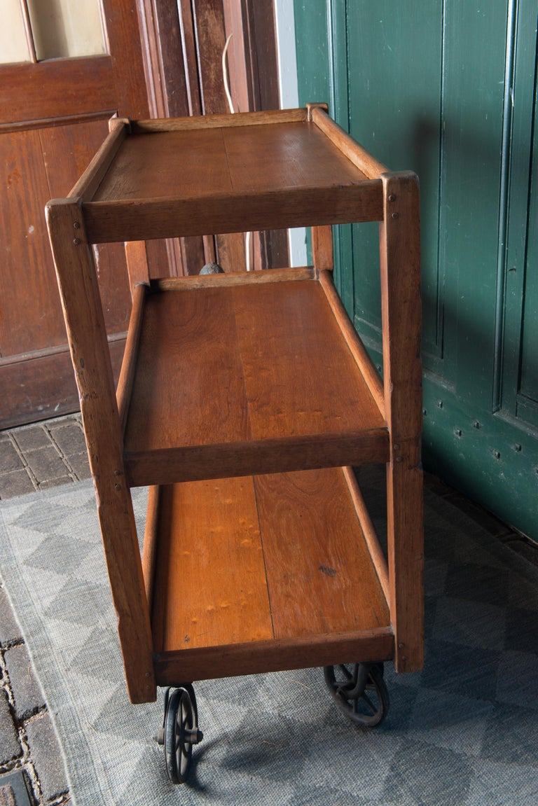 English Serving Cart For Sale 10