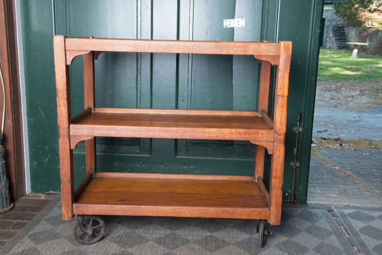 English Serving Cart For Sale 11