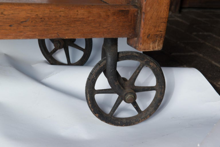 English Serving Cart For Sale 2