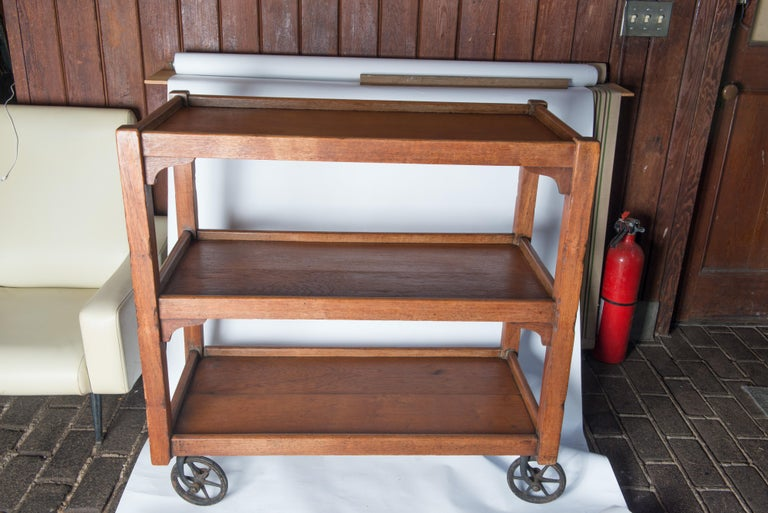 English Serving Cart For Sale 4