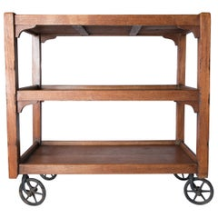 English Serving Cart