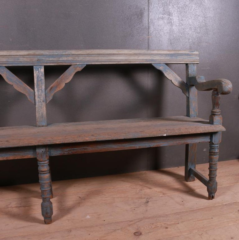 Victorian English Settle/Bench For Sale