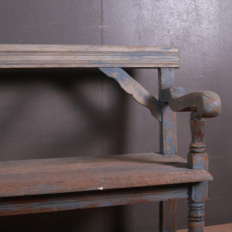 English Settle/Bench In Good Condition For Sale In Leamington Spa, Warwickshire