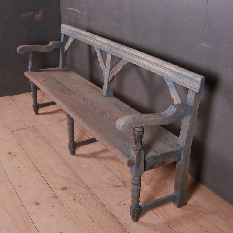 Oak English Settle/Bench For Sale