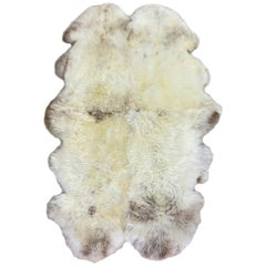 English Sheepskin Rug, Limited Edition, Jacob Quad Made in Australia