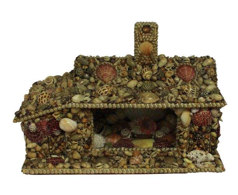 English Shell Grotto House 1
