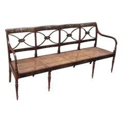 English Sheraton Bench
