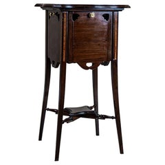 English Side Table from the Turn of the 19th and 20th Centuries
