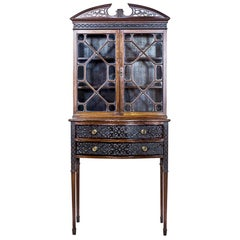 English, Signed Cabinet, C. Williams, 1919