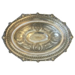 English Silver Footed Compote Bowl