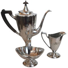English Silver Plate Coffee Service