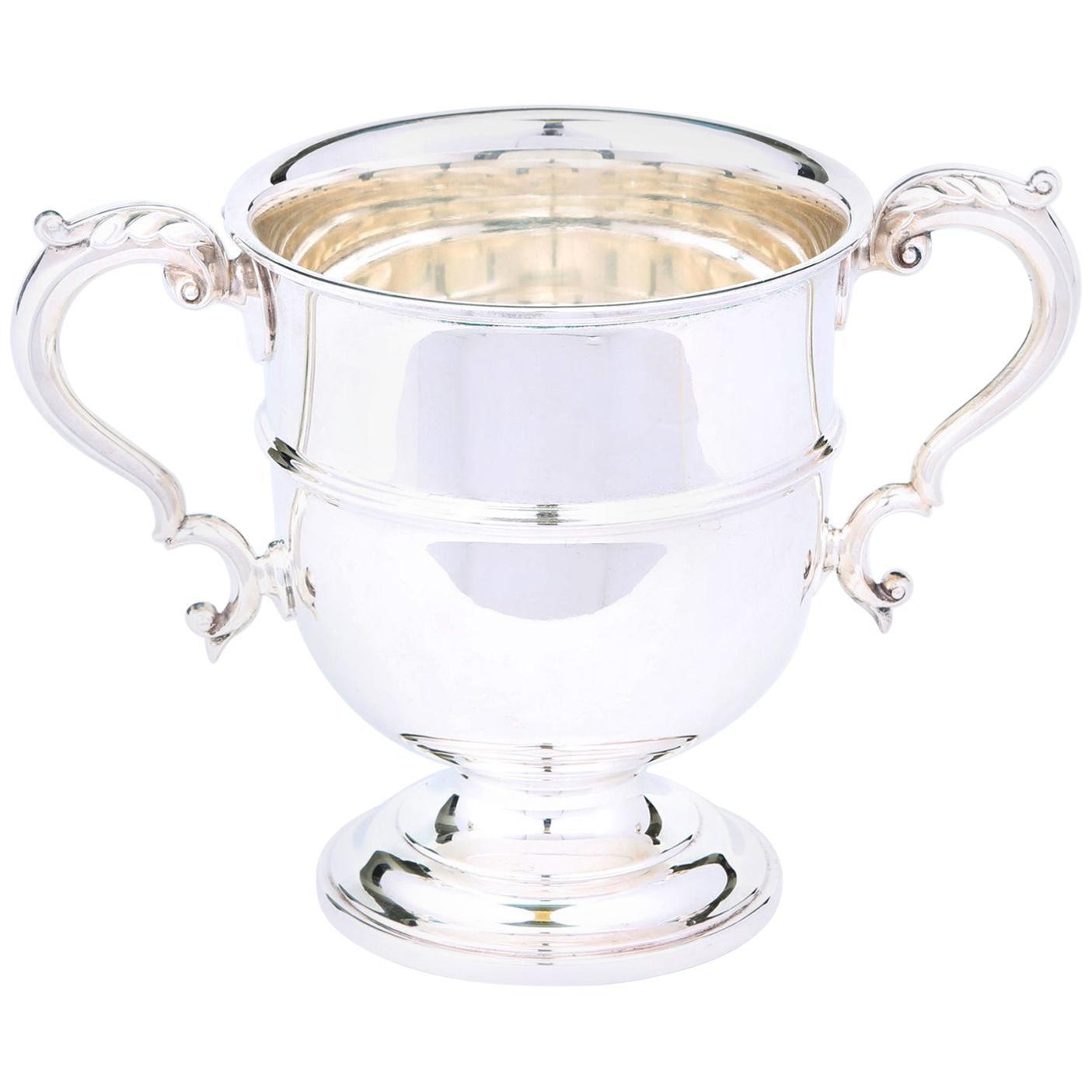 English Silver Plated Barware / Tableware Ice Bucket