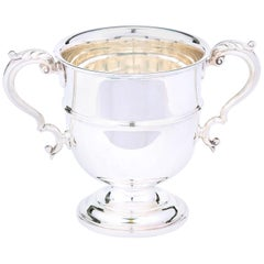 English Silver Plated Barware / Tableware Ice Bucket
