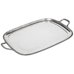 English, Silver Plated Tray