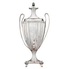 English Silverplate Tea Urn