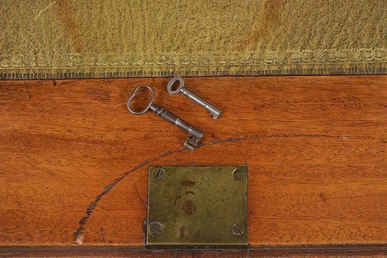 English Slant Front Secretary Desk, circa 1820s For Sale 3