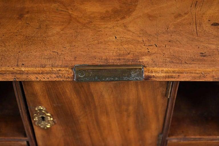 English Slant Front Secretary Desk, circa 1820s For Sale 5