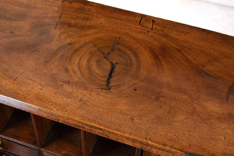 English Slant Front Secretary Desk, circa 1820s For Sale 6