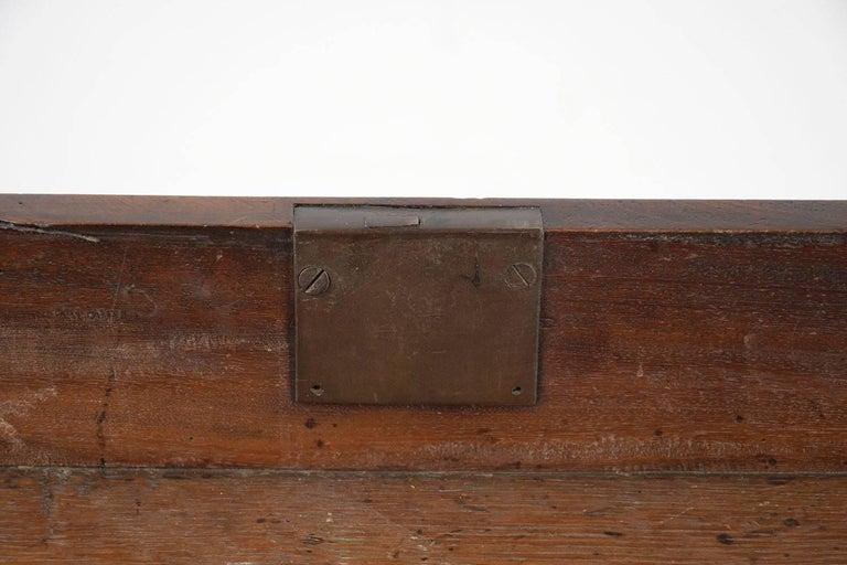 English Slant Front Secretary Desk, circa 1820s For Sale 9