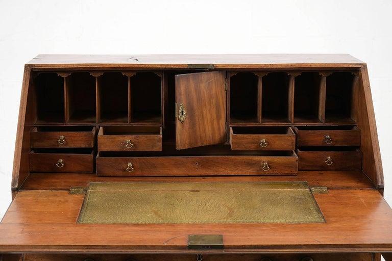 English Slant Front Secretary Desk, circa 1820s For Sale 1